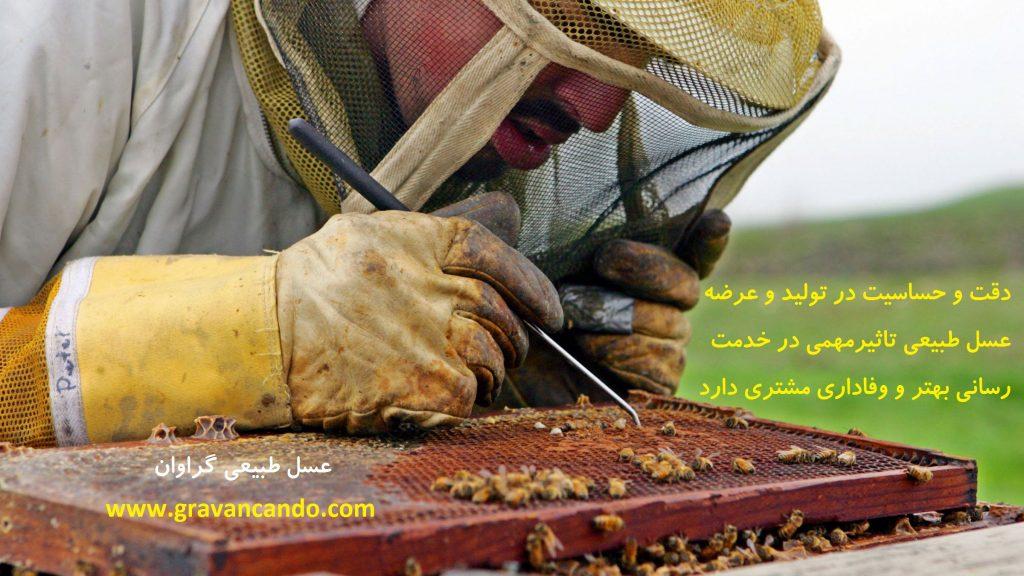 خرید اینترنتی عسل طبیعی