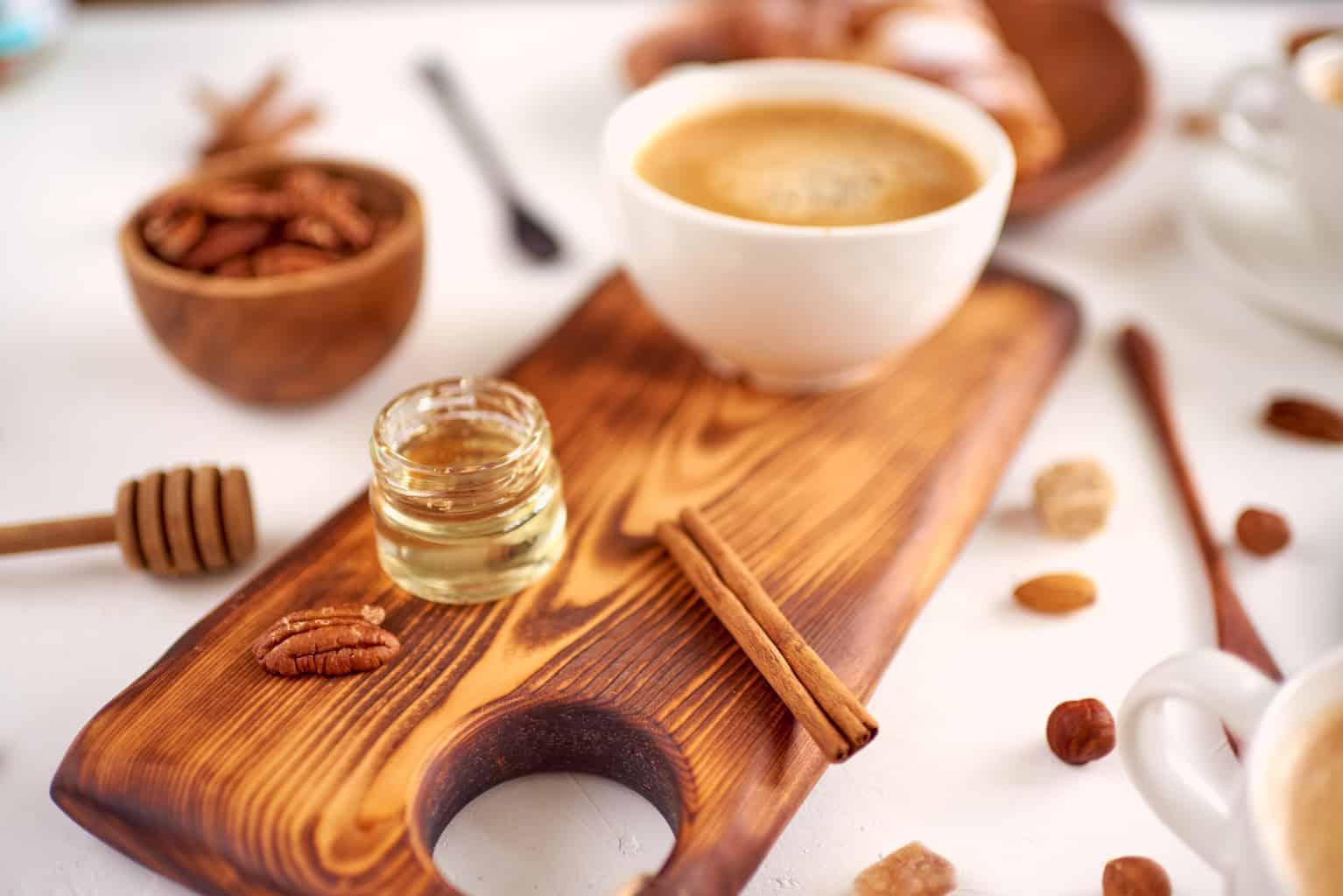استفاده از عسل در قهوه